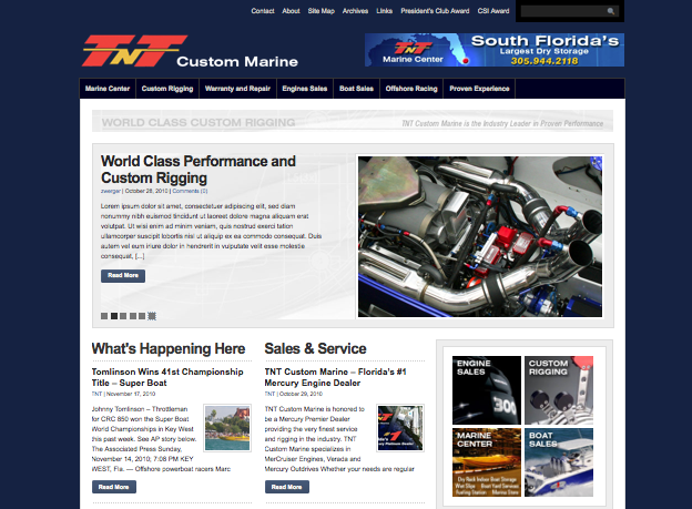 TNT Custom Marine New Website is Here!