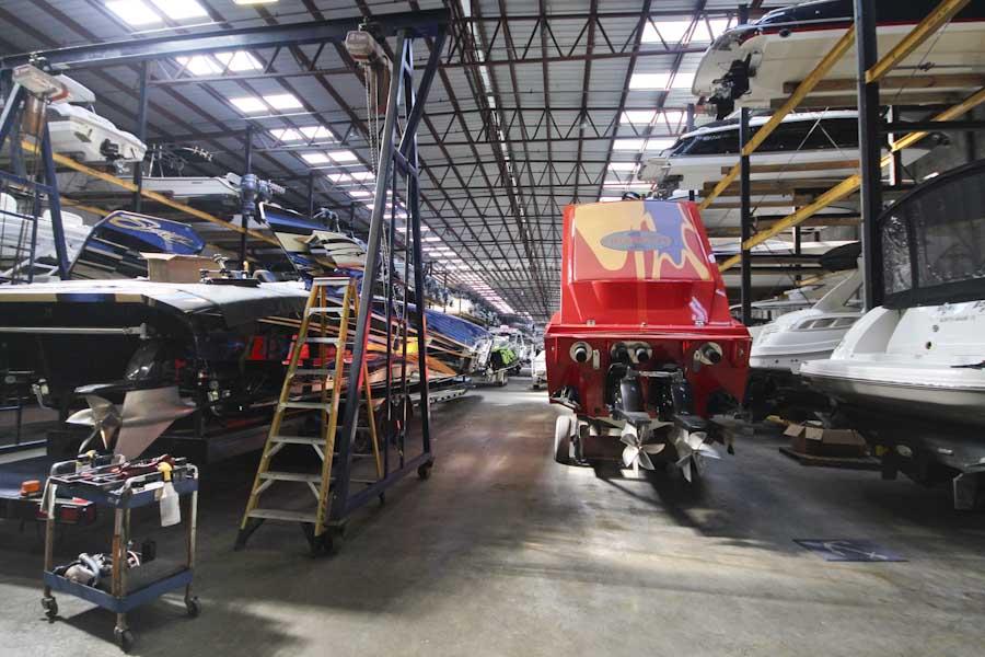 Service and Warranty Available at TNT Custom Marine