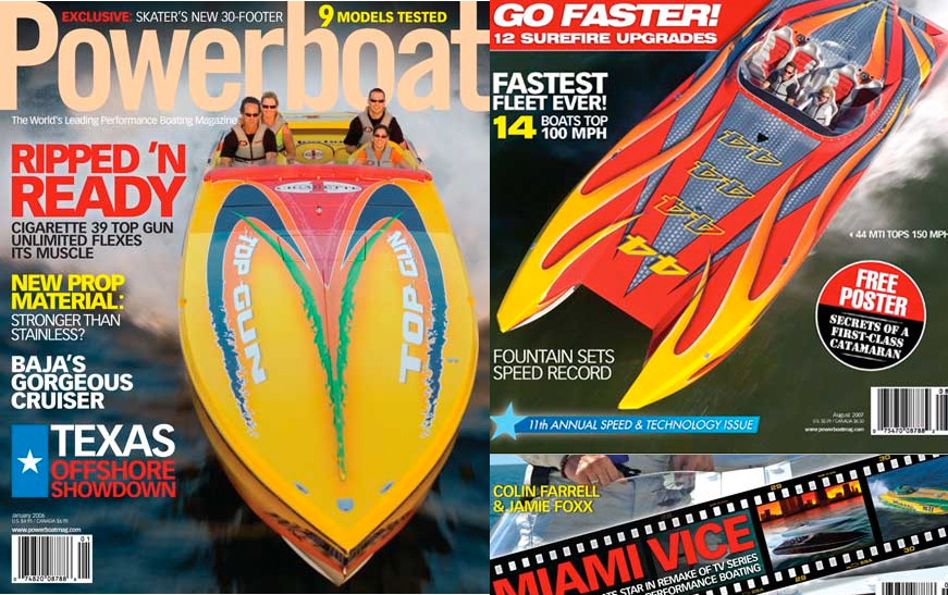 Powerboat Mag... Performance Test Driver & Setup Specialist