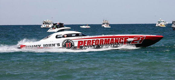 Tomlinson to Compete with Performance Boat Center at Clearwater National Championship