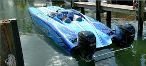 TNT Custom Marine's Delivers New 32 RT From Doug Wrights Designs