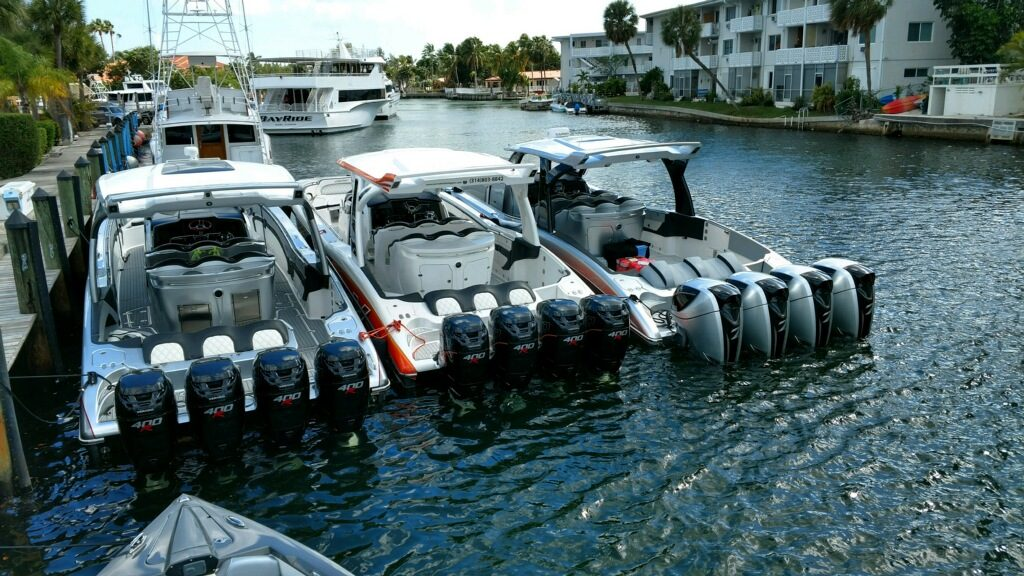 Tnt custom marine makes mti v delivery to 2017 miami boat show - Miami boat show ...
