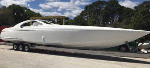 48' Doug Wright–Built V–Bottom Rigging By TNT Custom Marine