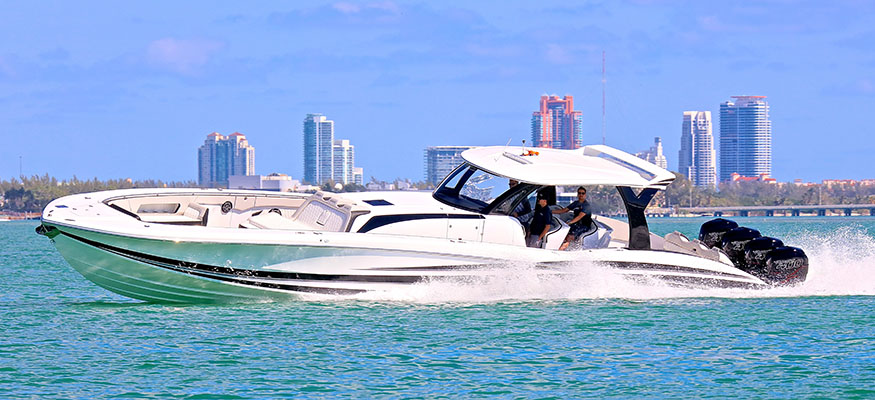 Johnny Tomlinson Gave A Few Boat Rides At The Miami Boat