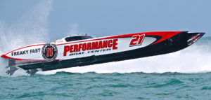 Tomlinson and Performance Boat Center Come in 3rd for Sarasota Powerboat Grand Prix