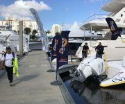 TNT Custom Marine Airship 330 at Fort Lauderdale Boat Show