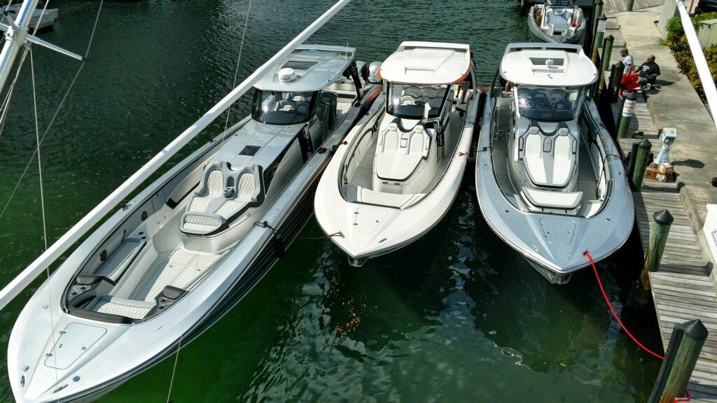TNT Custom Marine Delivers MTI–V's to 2017 Miami Boat Show
