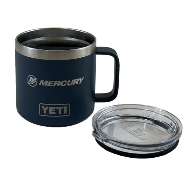 YETI Rambler 14oz Mug with Standard Lid (back)