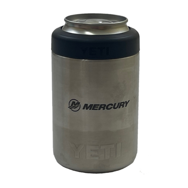 YETI Rambler 12oz Colster Can Insulator Stainless Steel (back)