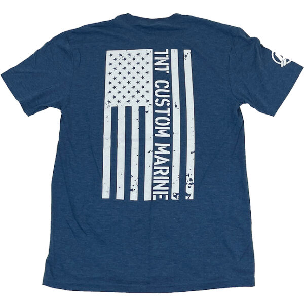 American Flag T-Shirt (blue back)
