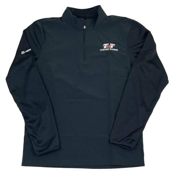 Nike Dri-FIT 1-2 Zip Cover-Up (front)