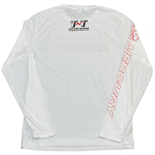 efresh Performance Long Sleeve (back white)