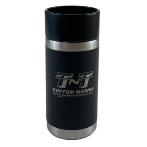 YETI Rambler 12oz Bottle with Hotshot Cap (front)