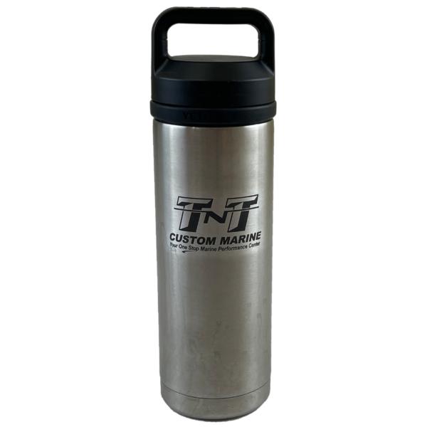 YETI Rambler 18oz Bottle with Chug Cap (front)